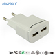 OEM Super Fast EU Plug 5V 2A Travel Mobile Phone Charger, Wall USB Charger For Samsung iPhone Charger