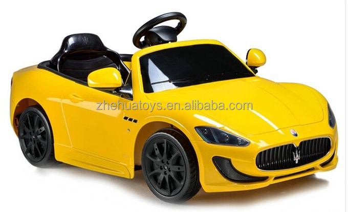 cool maserati license electric toy car 24v,kids electric cars for 10