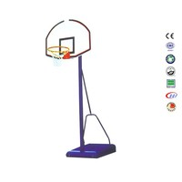 Custom 10 year old outdoor basketball hoop basketball court steel basketball net