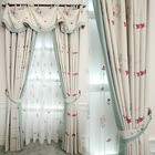 Products Supply Living Room Sets Turkish Curtains Embroidery,Ready Made Homes Kids Bed Curtain Beads Wooden Door$