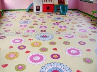 أرضية من الفينيل للغرفة الأطفال ارضيات من البلاستيك  معرف المنتج