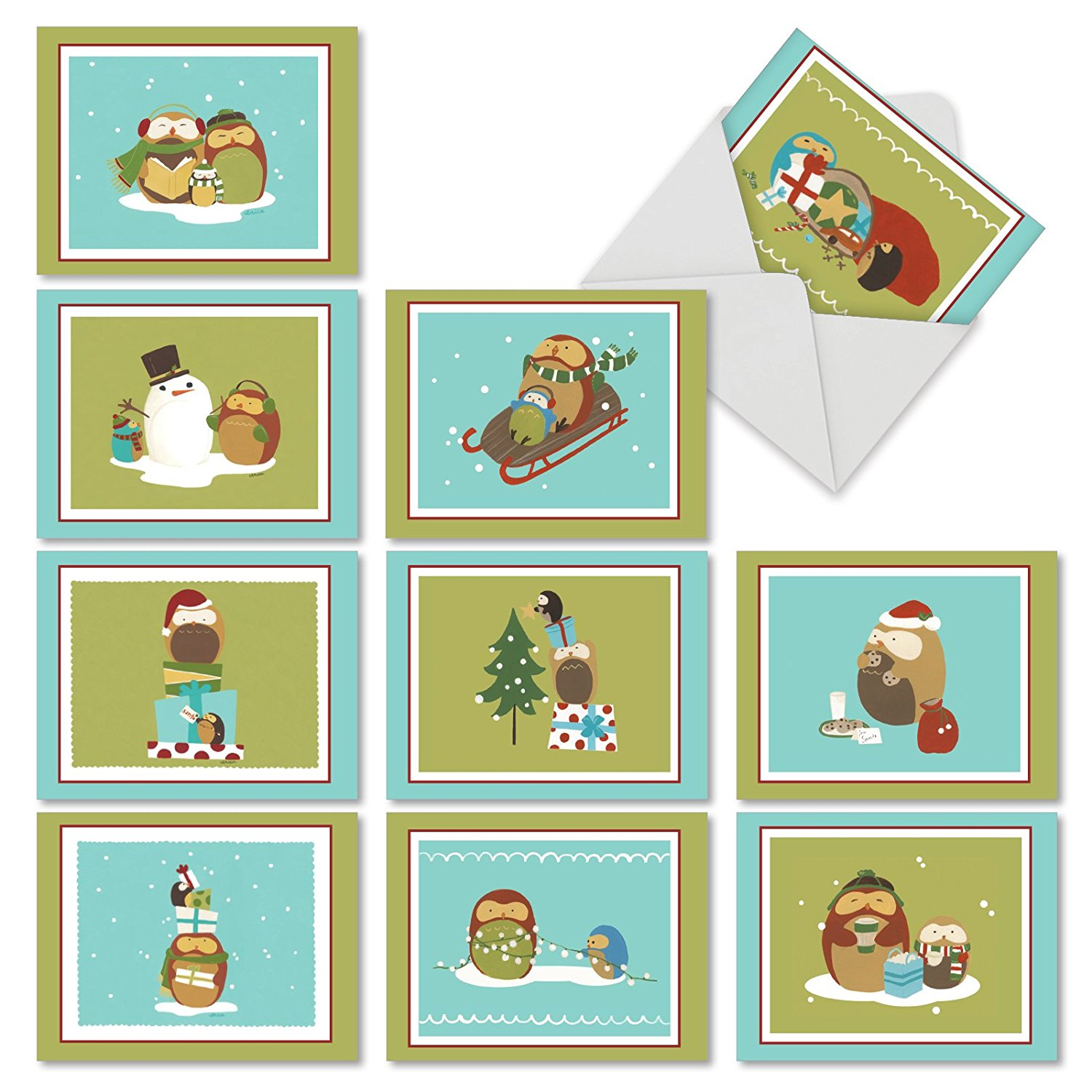 Cheap Owl Christmas Cards, find Owl Christmas Cards deals on line at ...