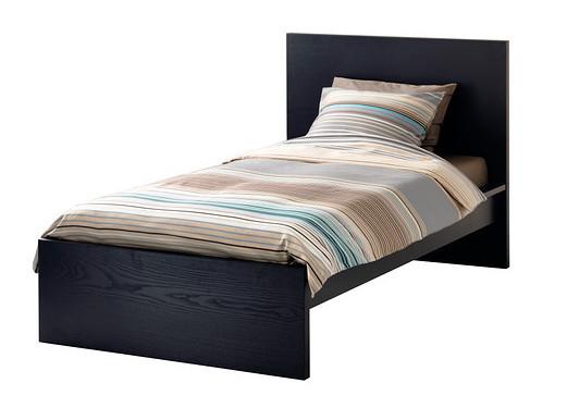 Hot sale modern wooden single bed