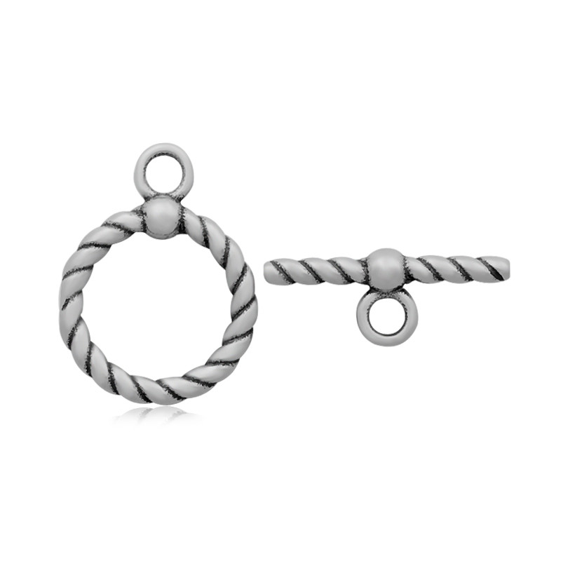 6*21mm OT Clasp Stainless Steel Jewelry Findings & Components Never Fade Toggle & Lobster Clasp Jewelry Parts