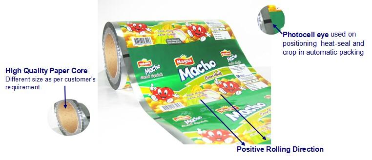 Liquid Fresh Milk Packaging Pouch Black White Film /food Grade Nut ...
