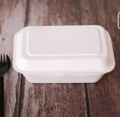 2019 Hot Koop Wegwerp Diner Box Groothandel Wegwerp Magnetron Veilig Pulp Lunchbox