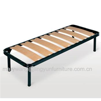 Western Style Unique Wooden Slatted Platform Bed Frames - Buy Metal ...