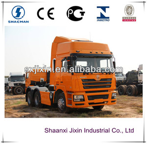 shacman 10 wheeler 3 axles tractor head truck