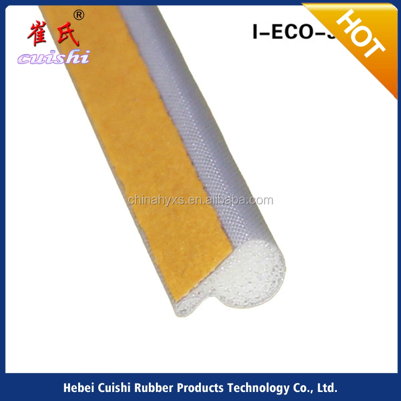 I-ECO-3087 sound insulation device door strips PU foam <strong>rubber</strong>