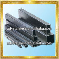 AISI 304 stainless steel square pipe