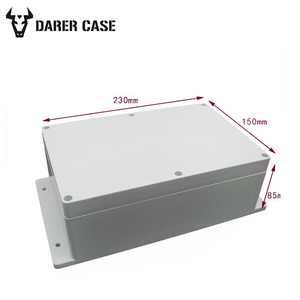 200*120*75mm grey Wall Mounted Plastic Distribution Box sp-f1-2