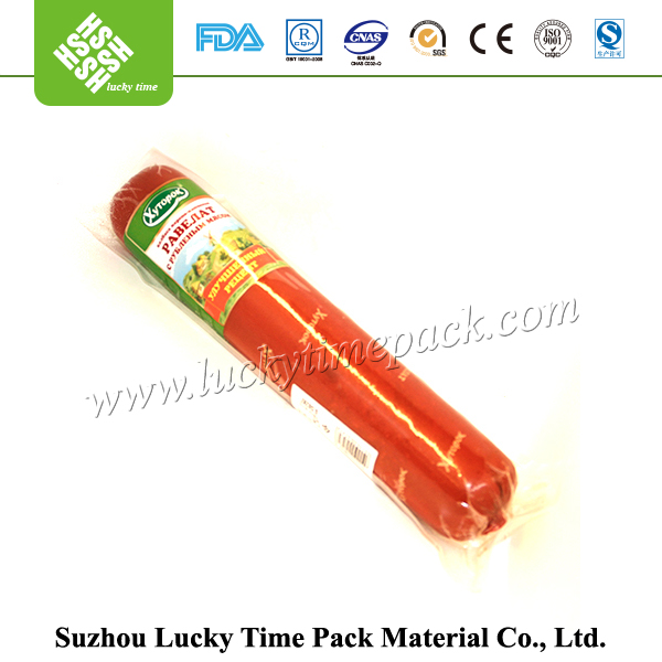 Food Grade Printing Disposable Plastic Casings for Sausage