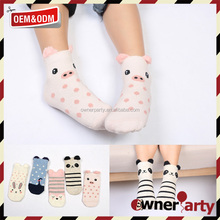 3D Cartoon Tube Sock Wholesale Teen Baby Girl Oem Sexy Kid Young Girl Catoon Tube Sock