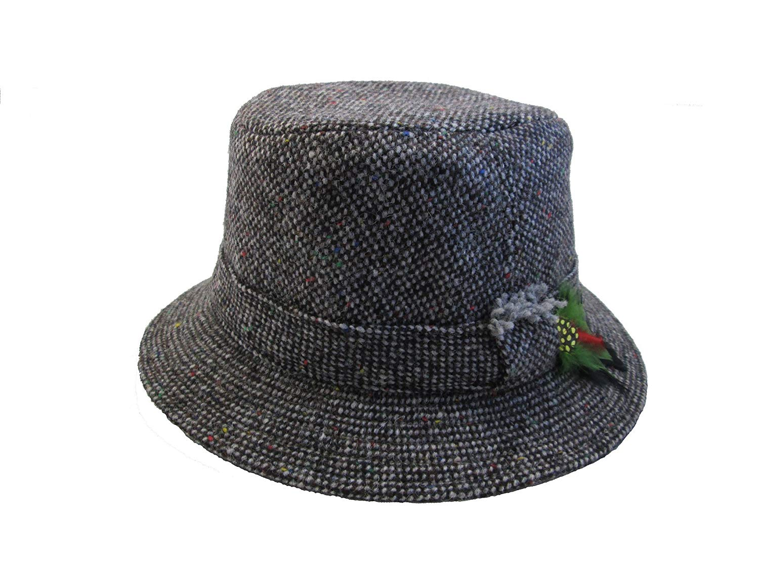9cd21d8ba2d Hanna Hats Irish Walking Hats for Men Grey Tweed Made in Ireland Small