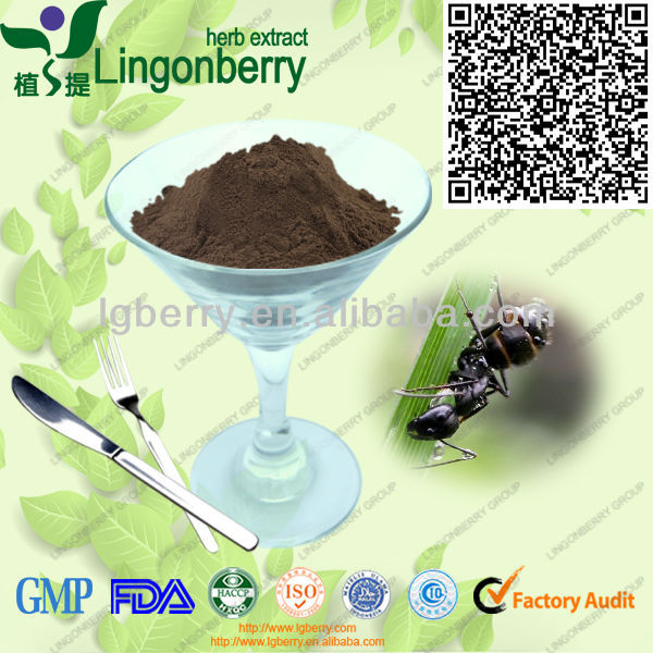 100% Wild Black/ Ant Extract/ Polyrhachis vicina Roger Powder (HACCP,ISO9001,HALAL,FDA )