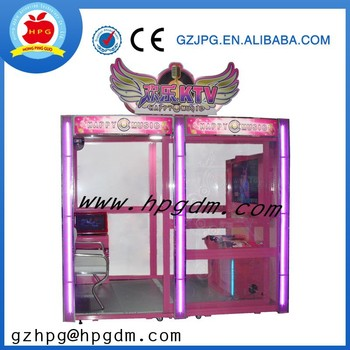 Coin Operated Mini Karaoke Cabinet Game Machine For Sale - Buy ...