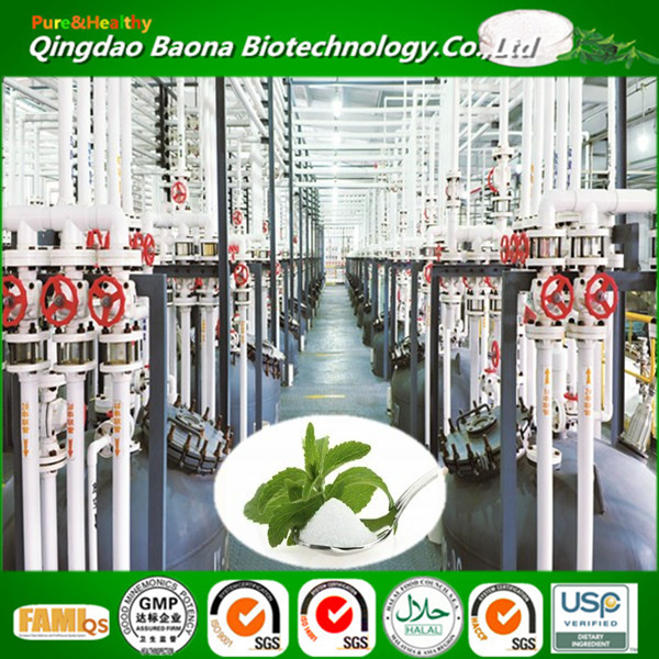 Leading Technology Stevia dry leaves Extract stevia glycosides Sweeteners rebaudioside a/b/c/d/m Powder