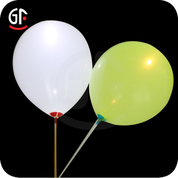new ballon lighting event and party favour custom logo printed led