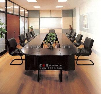 Precios bajos madera oficinas mesa mesa de conferencia for Precio mesa oficina