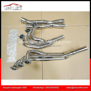 Exhaust stainless steel header for B*MW E30/M20 2.5L/2.7/84-91 with Y pipe downpipe