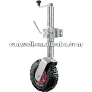 "trailer jack with 10"" wheel"