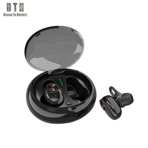 2019 China supplier V5 earphone & headphone Running headphone mini wired and wireless earphone beat