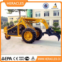 CE certificate mini sugar cane grab loader price