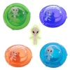 Alien UFO Crystal Putty Toys