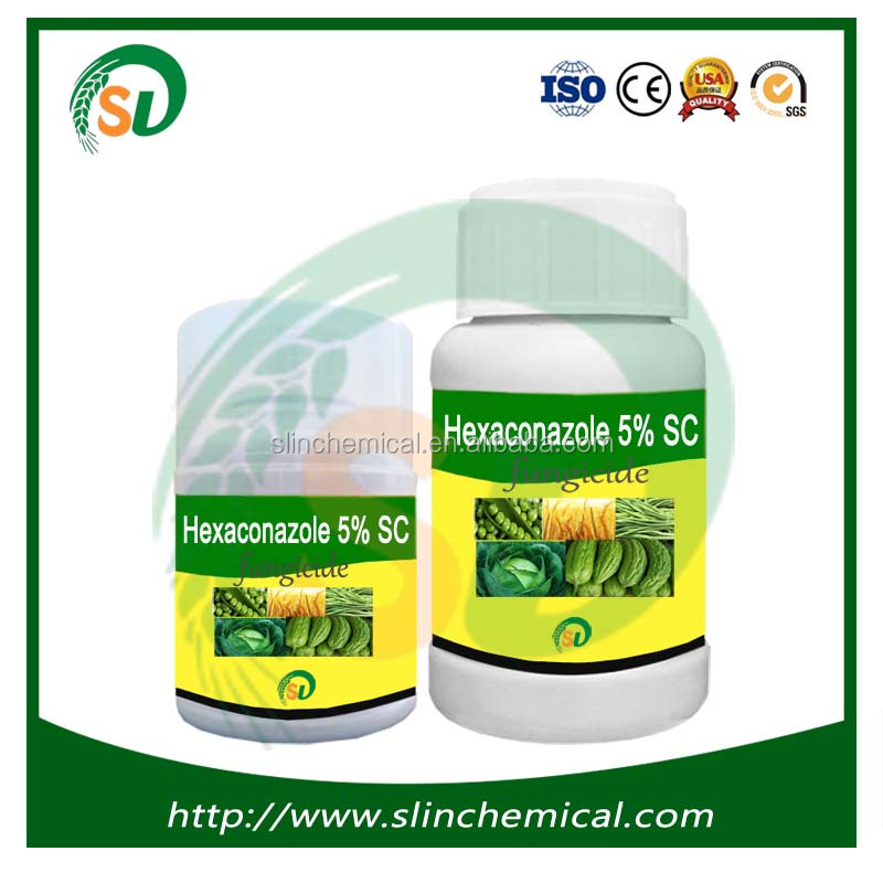 High quality pesticide for grapes hexaconazole 95%tc 5% ec 5% sc 10% ec with competitive price in fungicide