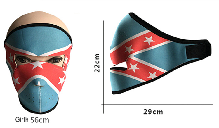 Warm And Windproof CS Skull Cycling Mask