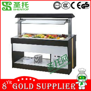 ShenTop Luxury Commercial Salad Showcase STEB020B/Salad Display Refrigerator/Salad freezer