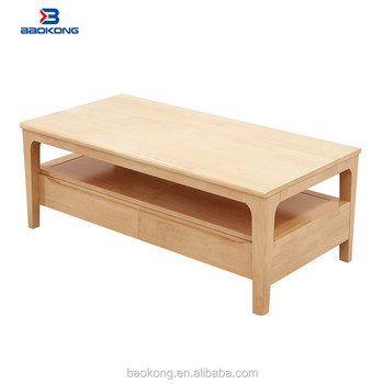 Rubberwood Coffee Table.Rubber Wood Furniture Modern Coffee Table Living Room End Table With Drawers Buy Wooden Coffee Tables Solid Wood Slab Coffee Tables Homemade Coffee