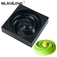 Heat-resistant High Quality Silicone 3D Cake Baking Molds For DIY