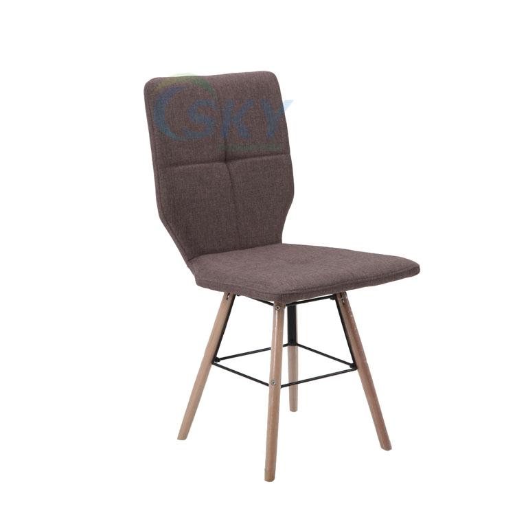 Madera moderna silla resto Marco, barato restaurante sillas de metal ...