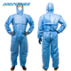 Safety Clothing Disposable PP/SMS/SF Coveralls With Hood