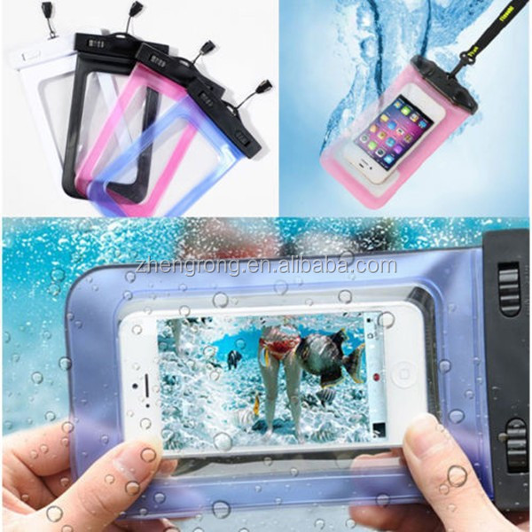 New Arrival Cell Phone PVC waterproof socks
