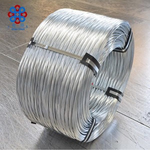 China Manufacturer Heavy Zinc 1.25mm Galvanized Steel Wire for south korea communications cable wire