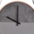 9 inch meeting room well natural wood frame wall clock