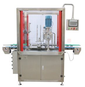Automatic vacuum nitrogen tin can sealing machine single head for baby milk powder sus304 stainless steel