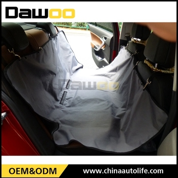 Cute Dog Protective Car Seat Cover Direct Custom Logo Printing