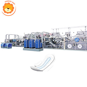 New design machine grade sanitary napkin pads making machine