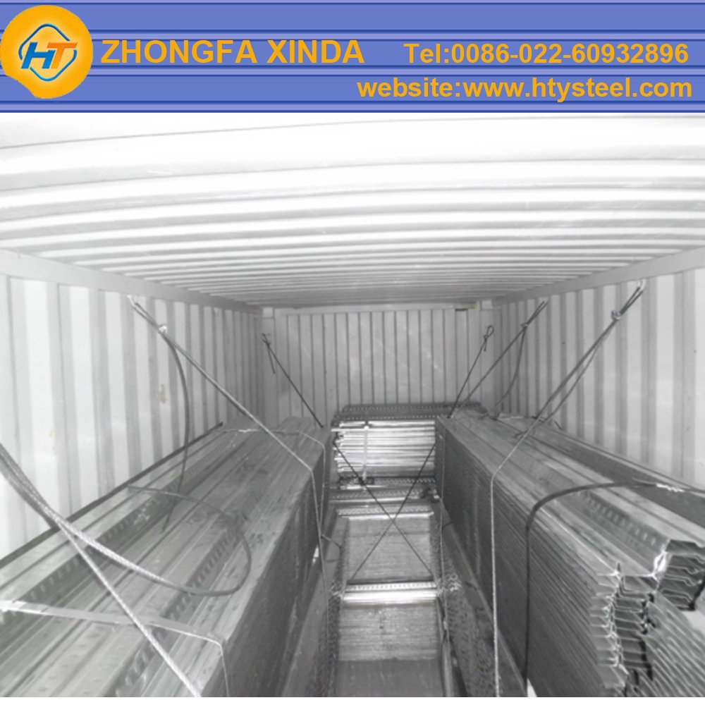Low cost galvanized steel floor decking for steel for Low price decking