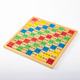 ZMW-1064 Multiplication Table Pattern Printed Board Children Educational Wooden Math Toys