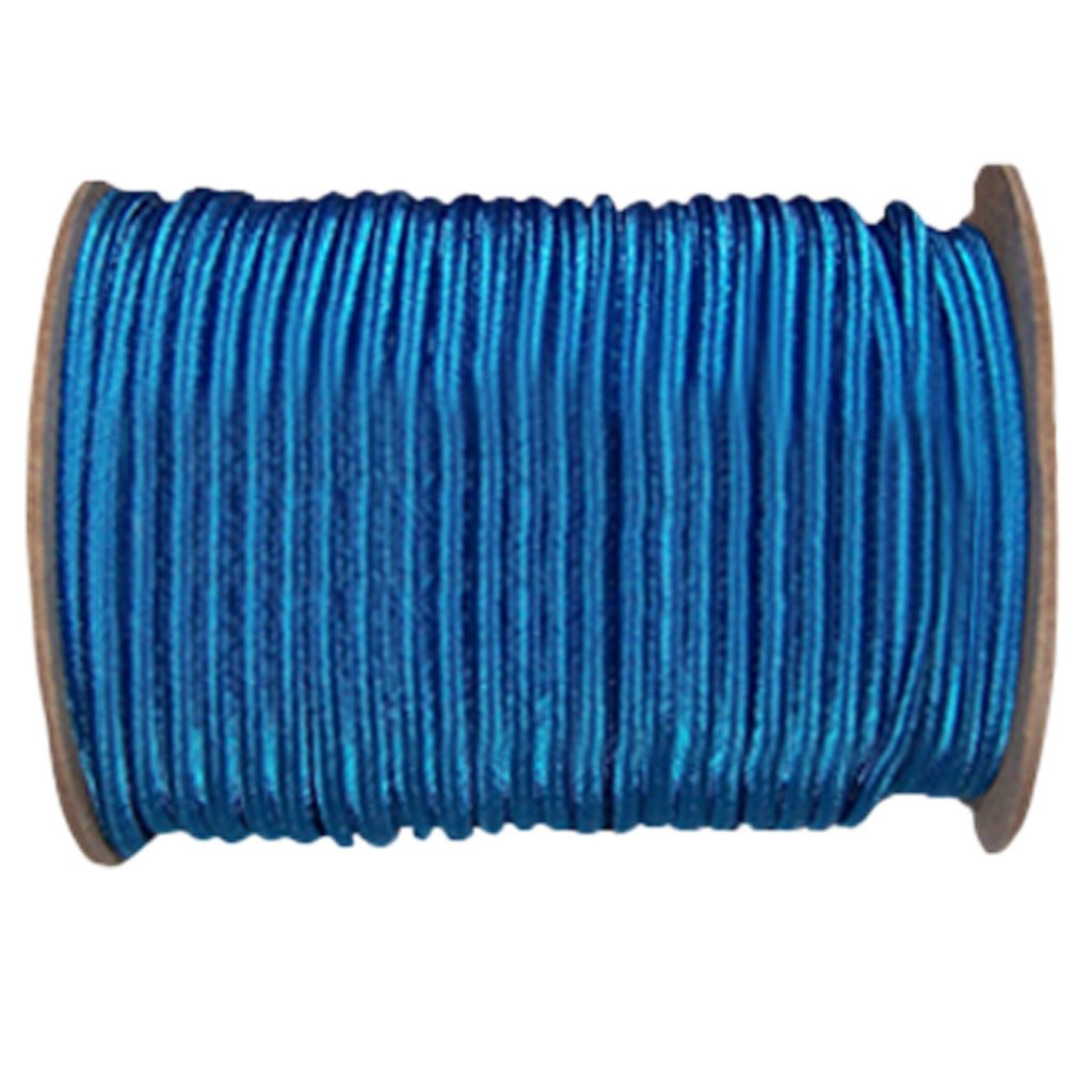 Shock Cord 3/16 inch - SGT KNOTS - Marine Grade Dacron Polyester Bungee - 100% Stretch - Moisture, UV, Weather Resistant - DIY Projects, Tie Downs, Commercial, Indoor, Outdoor (100 feet - Royal Blue)