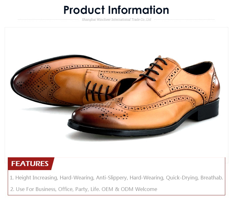 High Quality Oxford Man Business Shoe