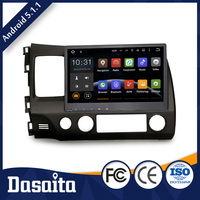 Faster Wireless 10.2 inch Car player dvd Built in Wifi with GPS for honda