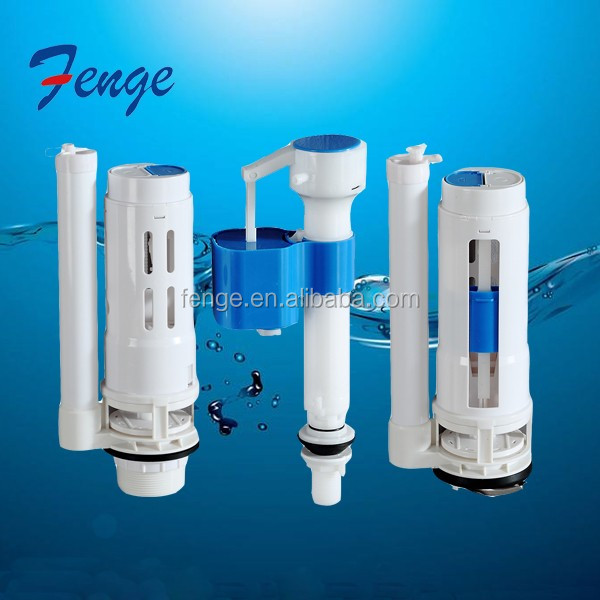ABS Material Cistern Mechanism /Toilet tank fittings /Dual Flush Valve