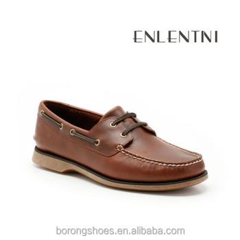 New Model Of Shoes Fashion Comfortable Work Boat Shoes Low Price Men