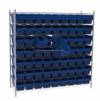 Industrial Simi Open Plastic Parts Storage Bins SF5120
