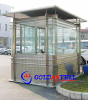 CE approved stainless steel outdoor guard house ,outdoor sentry box environment friendly